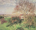 Autumn morning at Eragny, 1897 - Camille Pissarro