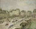 Pont Neuf, Snow Effect, 2nd Series, 1902 - Camille Pissarro