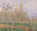 Orchard at Pontoise, 1878 - Camille Pissarro