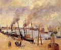 The Port of Le Havre - Camille Pissarro