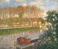 Sunset at Moret-sur-Loing, 1901 - Camille Pissarro