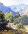 View of the San Gabriel Mountains - Guy Rose
