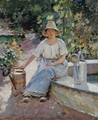 The Watering Pots, 1890 - Theodore Robinson