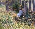 Autumn Sunlight (In the Woods) 1888 - Theodore Robinson