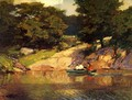 Boating in Central Park, c.1900-05 - Edward Henry Potthast