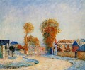 The First White Frost, 1876 - Alfred Sisley