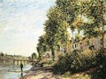 Morning Sun at Saint-Mammes, 1884 - Alfred Sisley