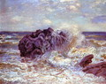 The Wave, Lady's Cove, Langland Bay, 1897 - Alfred Sisley