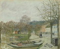 The Flood at Port-Marly, 1876 - Alfred Sisley