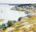 East Boothbay Harbor, 1904 - Willard Leroy Metcalf