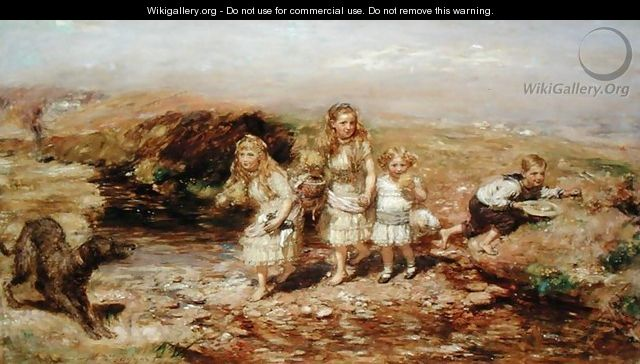 The Adventure, 1883 - William McTaggart