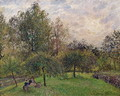 Apple Trees and Poplars in the Setting Sun, 1901 - Camille Pissarro