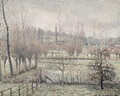 Snow Effect at Eragny, 1894 - Camille Pissarro