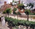 Bedford Park, Bath Road, London - Camille Pissarro