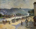 The Quays at Rouen, 1883 - Camille Pissarro
