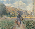 In the Garden - Camille Pissarro