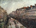 Mardi Gras on the Boulevards, 1897 - Camille Pissarro