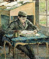 The Artist's Son, 1893 - Camille Pissarro