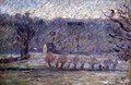 The Hill at Vaches, Bazincourt, c.1890 - Camille Pissarro