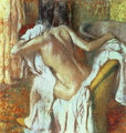 Woman drying herself, c.1888-92 - Edgar Degas