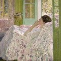 Afternoon - Yellow Room, 1910 - Frederick Carl Frieseke
