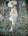 Sun and Wind - Frederick Carl Frieseke