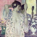 The Hand Mirror - Frederick Carl Frieseke