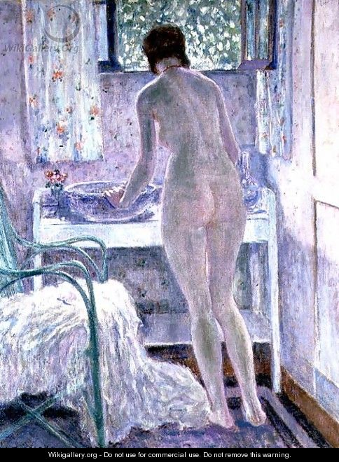 Morning Toilet - Frederick Carl Frieseke