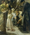 The Twelve-Year-Old Jesus in the Temple, 1879 - Max Liebermann