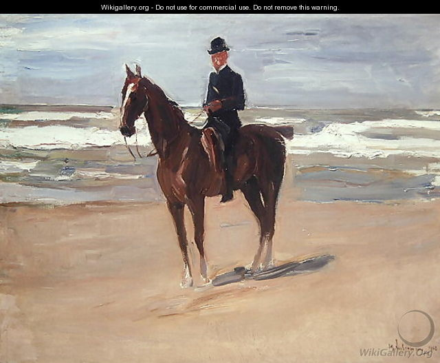 Rider on the Beach, 1908 - Max Liebermann