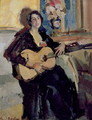 Lady with a Guitar, 1911 - Konstantin Alexeievitch Korovin