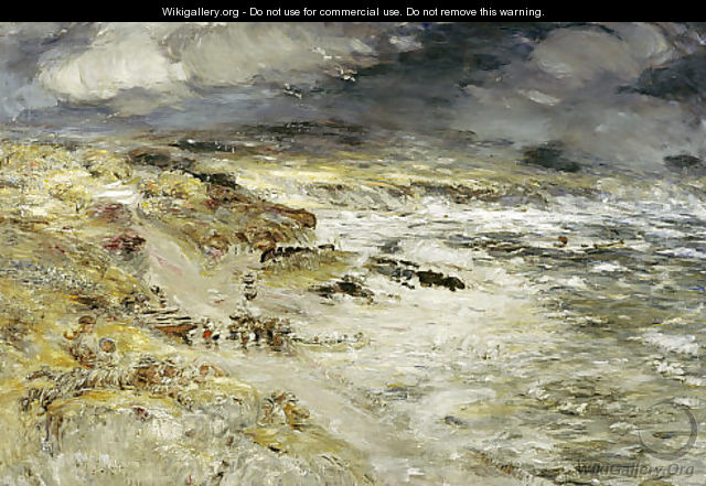 The Storm, 1890 - William McTaggart