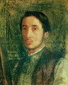 Self Portrait as a Young Man - Edgar Degas