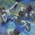 Blue Dancers, c.1899 - Edgar Degas
