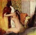 After the Bath, 1898 - Edgar Degas