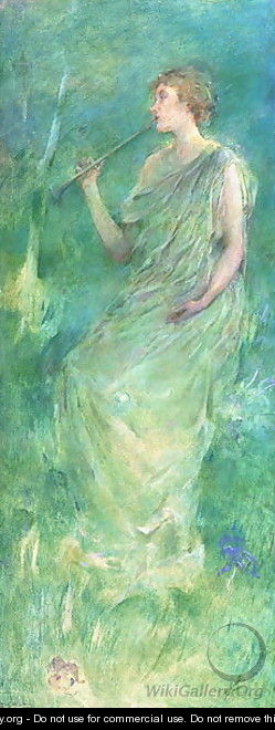 Music, c.1890-95 - Thomas Wilmer Dewing