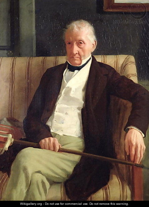 Portrait of Hilaire Degas (1770-1858), grandfather of the artist, 1857 - Edgar Degas