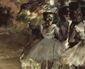 Three Dancers in the Wings, c.1880-85 - Edgar Degas