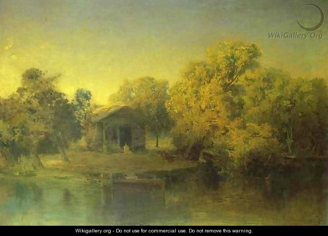 Pond at the Sunset. 1871 - Feodor Alexandrovich Vasilyev