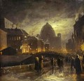 Illumination in St. Petersburg. 1869 - Feodor Alexandrovich Vasilyev
