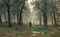 Rain in an Oak Forest - Ivan Shishkin