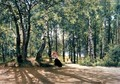 At the Summer Cottage, 1894 - Ivan Shishkin