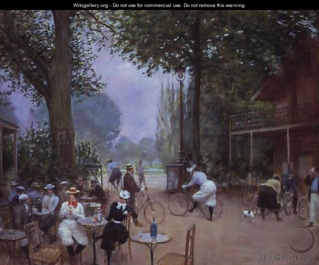 The Chalet du Cycle in the Bois de Boulogne, c.1900 - Jean-Georges Beraud