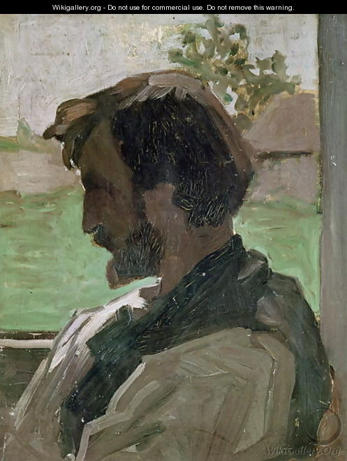 Self Portrait at Saint-Saveur, 1868 - Frederic Bazille