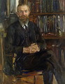 Portrait of Dr Edward Meyer (1855-1930) 1910-11 - Lovis (Franz Heinrich Louis) Corinth