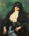 The Black Mask - Lovis (Franz Heinrich Louis) Corinth