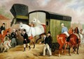 The Derby Pets- The Arrival, 1842 - James Pollard