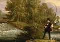 Trout Fishing on the Lea, 1841 - James Pollard