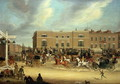 The Elephant and Castle on the Brighton Road, 1826 2 - James Pollard