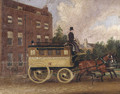 The Clapton Association Omnibus, 1853 - James Pollard